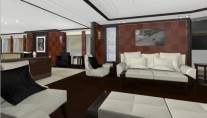 Yacht Midlandia - Interior Design - Salon
