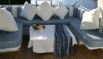 Yacht NEVER SAY NEVER -  Sundeck Seating