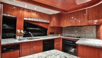 Yacht NO COMPLAINTS - Galley