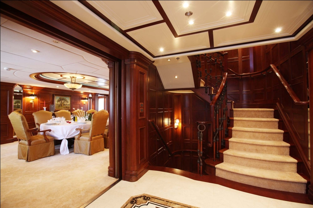 Foyer Luxury Yacht : Stairs image gallery luxury yacht browser