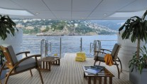Yacht OBSESSION - Main Aft Deck