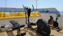 Yacht OBSESSION - Outside Gym Area