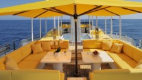 Yacht OBSESSION - Sundeck seating