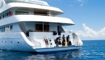 Yacht OCEAN SAPPHIRE -  Swim Platform Diving and Water Sports