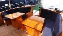 Yacht OLD DREAM -  Aft Deck