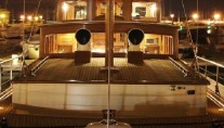 Yacht OLD DREAM -  At Night