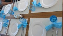Yacht OMBRE BLU - Table scaping