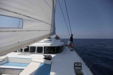 Yacht OMBRE BLU - View aft