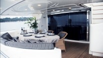 Yacht ONE O ONE -  Aft Deck
