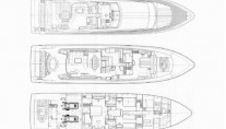 Yacht ONE O ONE -  Layout