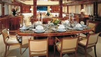 Yacht OPARI -  Formal Dining