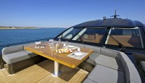 Yacht OPATI -  Foredeck Seating