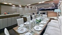 Yacht OPATI -  Formal Dining