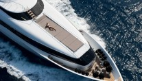 Yacht PALM B -  Bow From Above