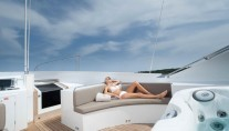 Yacht PALM B -  Flybridge Seating