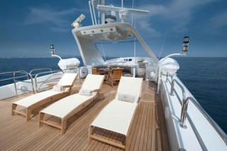 Yacht PALM B -  Flybridge Sunbeds