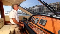 Yacht PAMPERO -  Helm and Captain