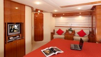 Yacht PAMPERO -  Master Cabin View 2