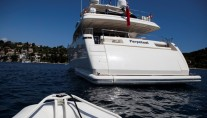 Yacht PERPETUAL -  Aft View