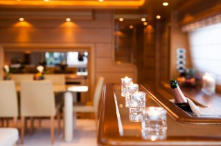 Yacht PERPETUAL -  Bar and Dining
