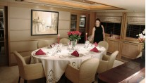 Yacht PHILOSOPHY -  Formal Dining