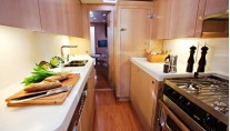 Yacht PTARMIGAN -  Galley