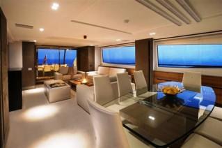 Motor yacht quantum peri yachts for Sofa natura 6650
