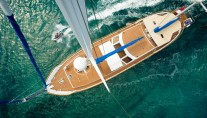 Yacht QUEEN SOUTH III -  From Above