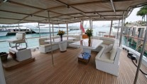 Yacht QUEEN SOUTH III -  Spacious Aft Deck