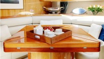 Yacht REHAB - Salon Dining