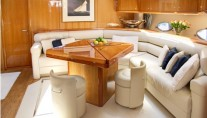 Yacht REHAB - Salon Seating adn Dining