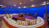 Yacht RENA -  Aft Deck Seating