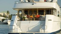 Yacht RENA -  Aft View