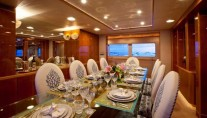 Yacht RENA -  Formal Dining