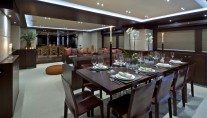 Yacht SANJANA -  Dining and Salon