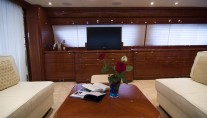 Yacht SANTA ELENA -  Salon View 2