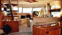 Yacht SAYANORA -  Dining and Helm