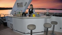 Yacht SCOTT FREE -  Flybridge Bar