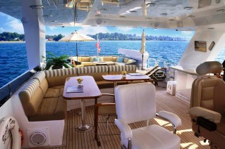 Yacht SCOTT FREE -  Flybridge