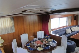 Yacht SEA DREAM -  Formal Dining.JPG