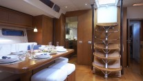 Yacht SEJAA -  Salon looking Aft
