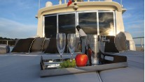 Yacht SERENITY ATLANTIC -  At Deck Sunpads