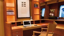 Yacht SERENITY ATLANTIC -  Lower Lounge Desk