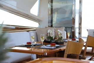 Yacht SERENITY ATLANTIC -  Main Salon Dining