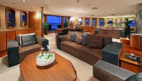 Yacht SHERAKHAN - Main Salon - Lounge Area