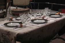 Yacht SILVER FOX -  Dining Table
