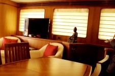 Yacht SILVER FOX -  Formal Dining