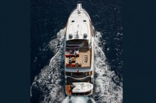 Yacht SILVER FOX -  From Above