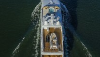 Yacht SILVER LINING - Aerial view
