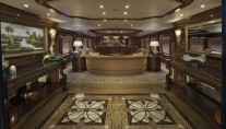 Yacht SILVER LINING - Salon and foyer